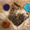 """Rocks"" 67x82 pigment, oil on canvas"
